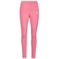 Textiel Dames Leggings adidas Originals 4 STRIPES TIGHT Ton / Roze