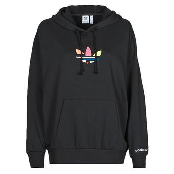 Textiel Dames Sweaters / Sweatshirts adidas Originals HOODIE Zwart