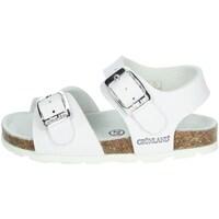 Schoenen Meisjes Sandalen / Open schoenen Grunland SB0027-40 White