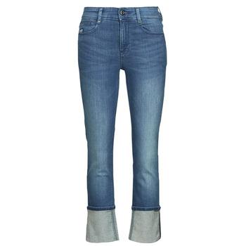 Textiel Dames Straight jeans G-Star Raw NOXER STRAIGHT Blauw
