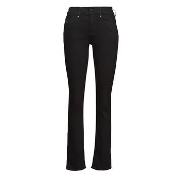 Textiel Dames Straight jeans G-Star Raw NOXER STRAIGHT Zwart