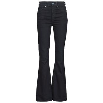 Textiel Dames Bootcut jeans G-Star Raw 3301 FLARE Blauw