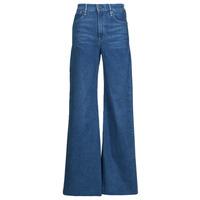 Textiel Dames Bootcut jeans G-Star Raw DECK ULTRA HIGH WIDE LEG Blauw