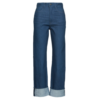 Textiel Dames Straight jeans G-Star Raw TEDIE ULTRA HIGH STRAIGHT Blauw