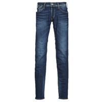 Textiel Heren Skinny jeans Le Temps des Cerises 712 BAS Blauw