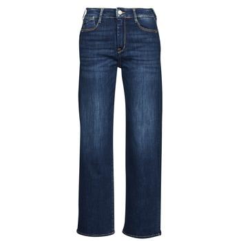 Textiel Dames Straight jeans Le Temps des Cerises PULP HIGH WAIST Blauw
