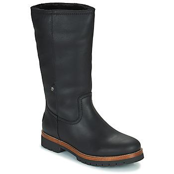 Schoenen Dames Laarzen Panama Jack BAMBINA Zwart