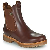 Schoenen Dames Laarzen Panama Jack FRANCESCA Brown