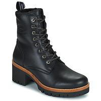 Schoenen Dames Laarzen Panama Jack PADMA Zwart
