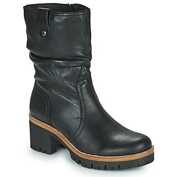 Schoenen Dames Laarzen Panama Jack PIERA Zwart