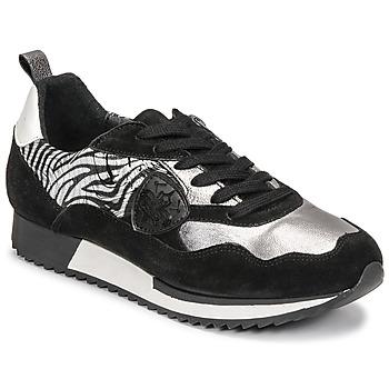 Schoenen Dames Lage sneakers Philippe Morvan ROX Zwart / Zilver