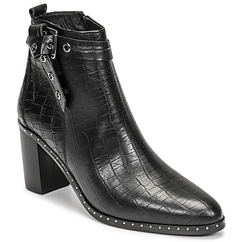 Schoenen Dames Hoge laarzen Philippe Morvan BERRYS Zwart