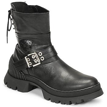 Schoenen Dames Laarzen Philippe Morvan CAMIX Zwart