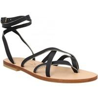 Schoenen Dames Sandalen / Open schoenen Spartiates Phoceennes 130503 Zwart