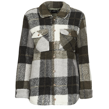 Textiel Dames Jasjes / Blazers Volcom SILENT SHERPA JACKET Zwart