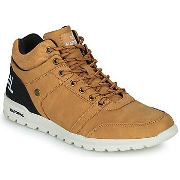 Schoenen Heren Hoge sneakers Kaporal DAWSON  camel / Zwart