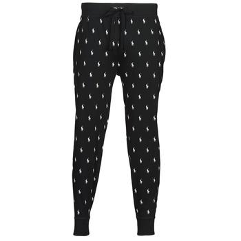 Textiel Heren Trainingsbroeken Polo Ralph Lauren JOGGER PANT SLEEP BOTTOM Zwart