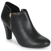 Schoenen Dames Low boots Moony Mood PERRINE Zwart