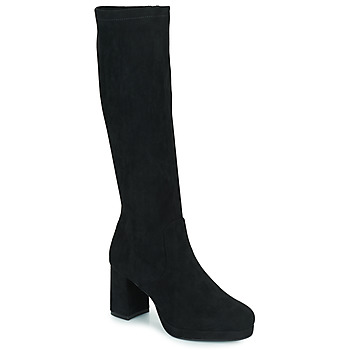 Schoenen Dames Hoge laarzen Moony Mood PENILA Zwart