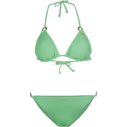 Textiel Dames Bikini's O'neill Capri Bondey Fixed Set Groen