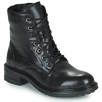 Schoenen Dames Laarzen San Marina CHAMAL Zwart