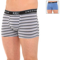Ondergoed Heren Boxershorts Kisses And Love Pack-2 Boxers bisous et amour Multicolour