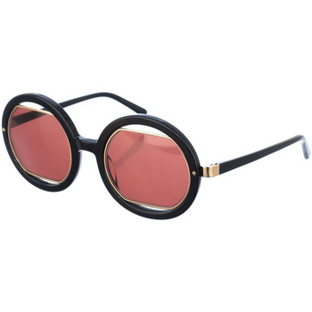Horloges & Sieraden Dames Zonnebrillen Marni Lunettes de soleil Zwart