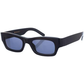 Horloges & Sieraden Dames Zonnebrillen Marni Lunettes de soleil Blauw