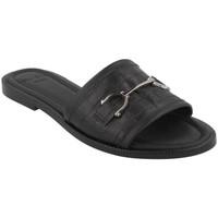 Schoenen Dames Leren slippers She - He  Negro