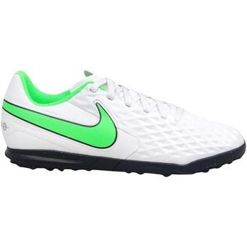Schoenen Kinderen Voetbal Nike Tiempo Legend 8 Club TF JR Blanc