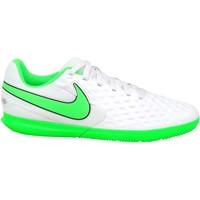 Schoenen Kinderen Voetbal Nike JR Tiempo Legend 8 Club IC Blanc