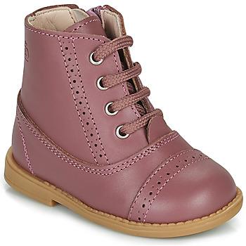 Schoenen Meisjes Laarzen Citrouille et Compagnie PUMBAE Roze