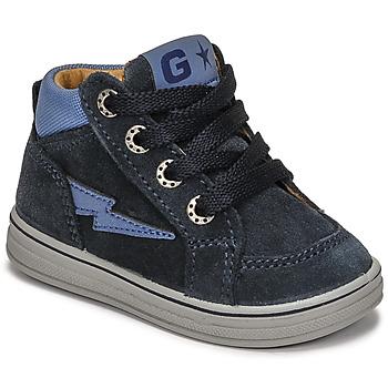 Schoenen Jongens Hoge sneakers Citrouille et Compagnie PALLA Marine