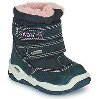 Schoenen Meisjes Snowboots Citrouille et Compagnie POUDOU Blauw / Roze
