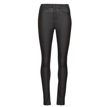 Textiel Dames 5 zakken broeken Noisy May NMCALLIE Zwart