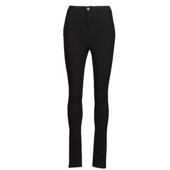 Textiel Dames Skinny jeans Noisy May NMELLA Zwart
