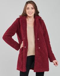 Textiel Dames Mantel jassen Noisy May NMGABI Bordeaux