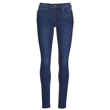 Textiel Dames Skinny jeans Noisy May NMJEN Blauw / Donker