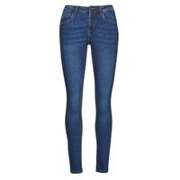 Textiel Dames Skinny jeans Noisy May NMJEN Blauw / Medium