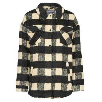 Textiel Dames Jasjes / Blazers Noisy May NMLULU Beige / Zwart