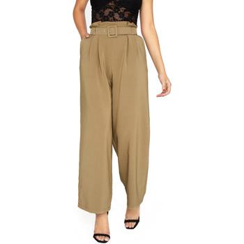 Textiel Dames Losse broeken / Harembroeken Girls On Film  Khaki