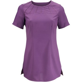 Textiel Dames T-shirts korte mouwen Alexandra Satin Amethist