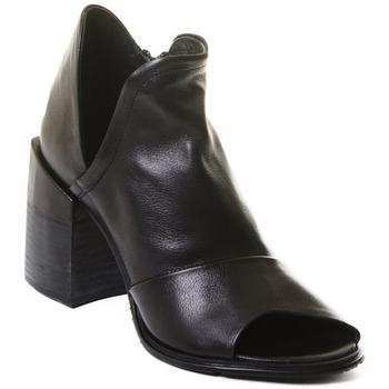 Schoenen Dames Enkellaarzen Rebecca White T0504 |Rebecca White| D??msk?? kotn??kov?? boty z ?ern?? telec?? k??e,