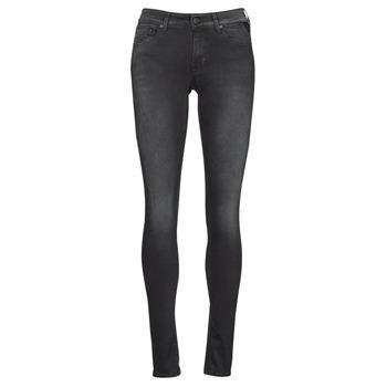 Textiel Dames Skinny Jeans Replay LUZIEN Zwart