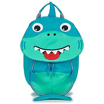 Tassen Kinderen Rugzakken Affenzahn SHARK Blauw
