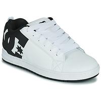 Schoenen Heren Skateschoenen DC Shoes COURT GRAFFIK Wit / Zwart