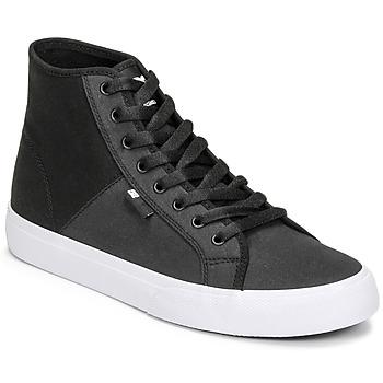 Schoenen Heren Hoge sneakers DC Shoes MANUAL HI TXSE Zwart / Wit