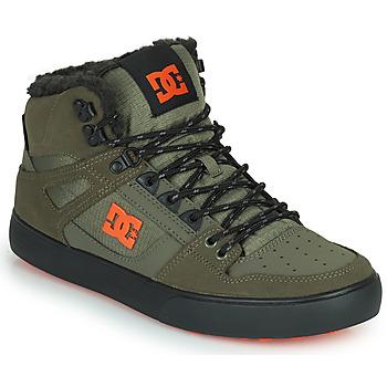 Schoenen Heren Hoge sneakers DC Shoes PURE HIGH-TOP WC WNT Kaki / Zwart