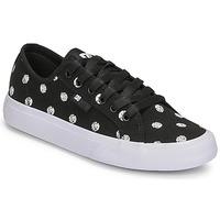Schoenen Dames Lage sneakers DC Shoes MANUAL TXSE Zwart / Wit