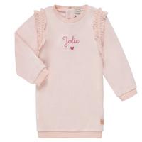 Textiel Meisjes Korte jurken Carrément Beau ABRICOT Roze